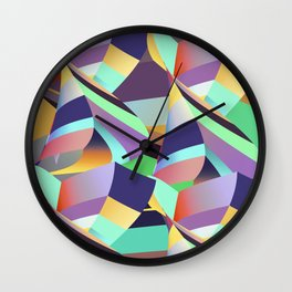 Mix of Possibility Wall Clock