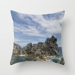 Sea Monsters. Throw Pillow