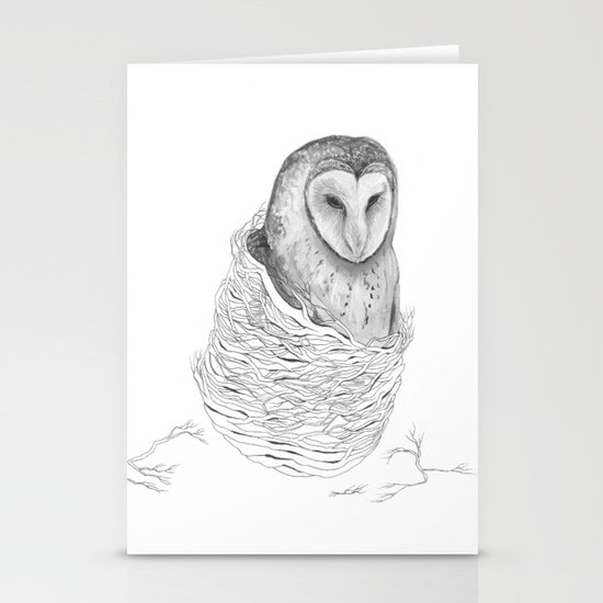 The Owl - Tangled Stationery Cards
