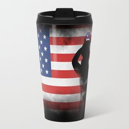 Honor Our Heroes On Memorial Day Travel Mug