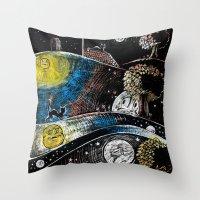 fairy tale Throw Pillows featuring Fairy Tale by MYRiPA