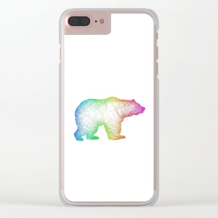 Bear Clear iPhone Case