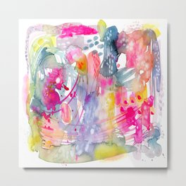 Colorful Chaos Metal Print
