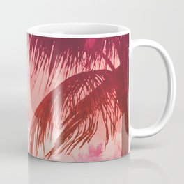 Tropical Pink Sunset Coffee Mug