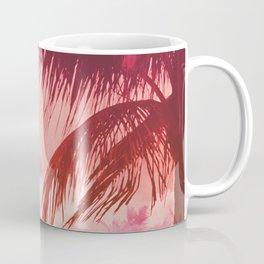 Tropical Pink Sunset Coffee Mug