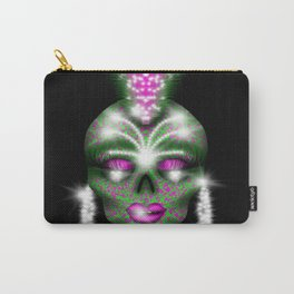Mowhawk skull Carry-All Pouch