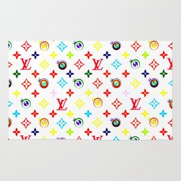 Takashi Murakami LV Collaboration Vuitton Rug