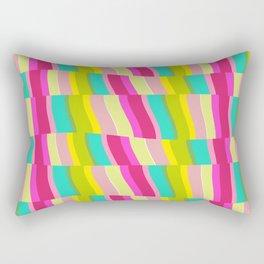 MULTI COLOURED STRIPE Rectangular Pillow