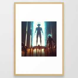 ADDICTION (everyday 30-04-2018) Framed Art Print