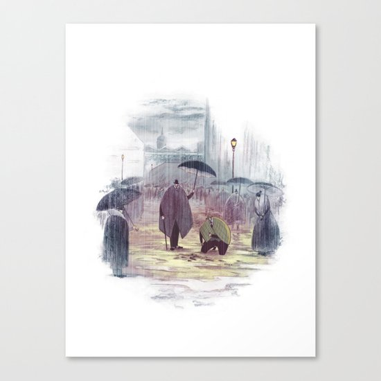 Holmes, Sherlock Canvas Print