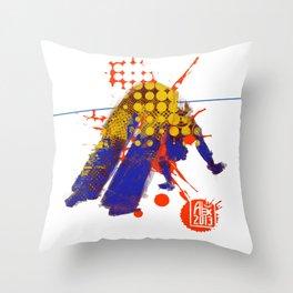 Capoeira 538 Throw Pillow