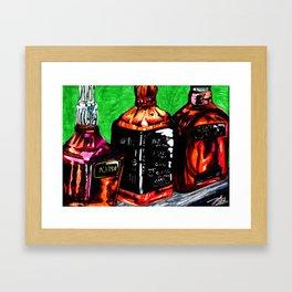 Bottles Up Framed Art Print