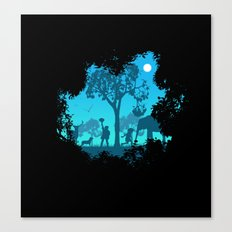 The jungle Canvas Print