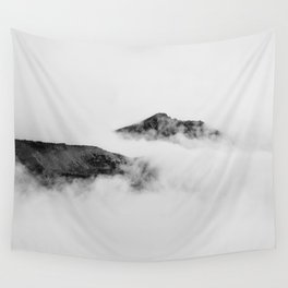 Mountains in the Clouds Wall Tapestry