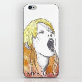 Nymphomaniac P iPhone Skin