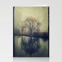 fog Stationery Cards featuring Fog by KunstFabrik_StaticMovement Manu Jobst