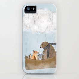 the cloud balloon iPhone Case