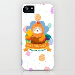 Hello, little friend iPhone Case