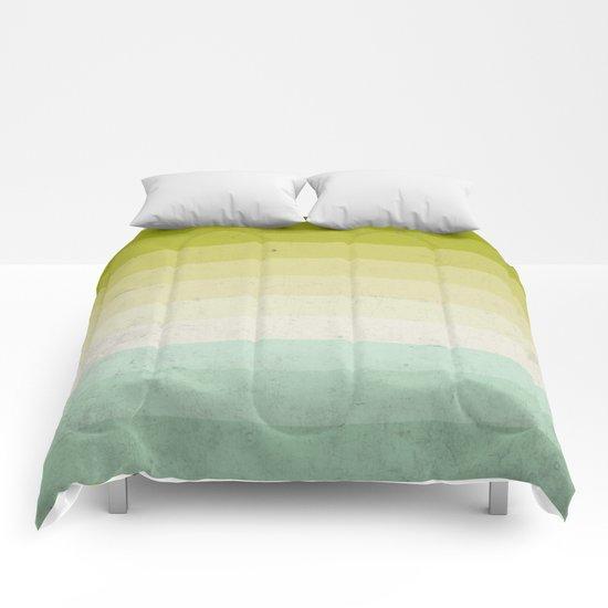 lime and lemon Comforters