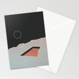 Moon Pool Stationery Cards
