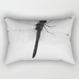 silhouette of dragonflie Rectangular Pillow