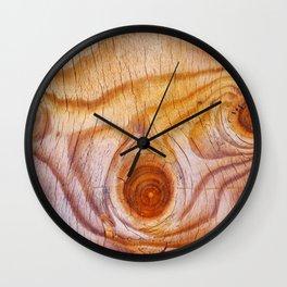 Wood fad Wall Clock
