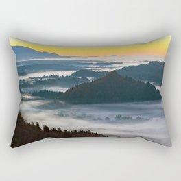 Bled at Sunset - Slovenia Rectangular Pillow