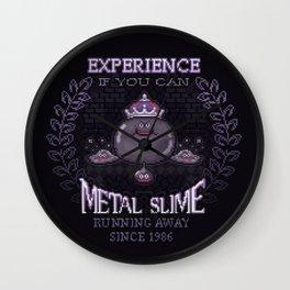 Slime Metal Wall Clock
