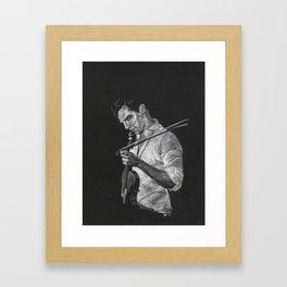 Benedict Cumberbatch: Violin Framed Art Print