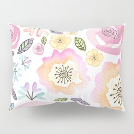 Flowers flower power print art Pillow Sham