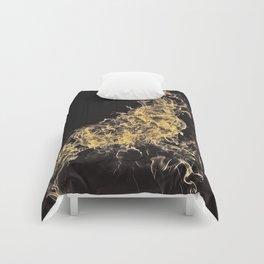 Yellow Flame Comforters