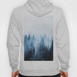 Misty Winter Forest Hoody