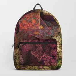 Unending magical spirals and spheres Backpack