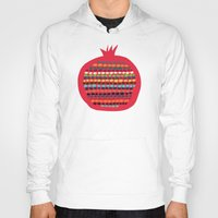pomegranate Hoodies featuring Pomegranate by Picomodi