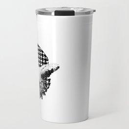 check houndstooth check Travel Mug