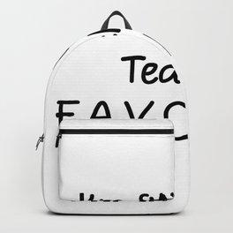 I'm 8th Grade Teacher Favorite 8th Grade Teacher Backpack