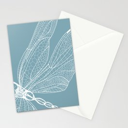 Dragonfly on Blue Stationery Cards
