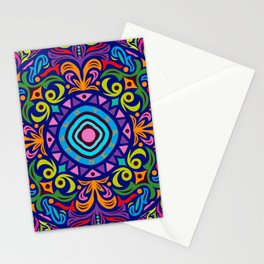 Mandala #4 – Love and Peace - Notebooks & more Stationery Cards
