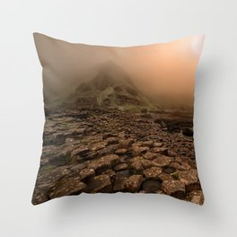 When the sun is going down Throw Pillow