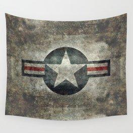 Vintage USAF Roundel Wall Tapestry