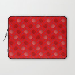 Polka Strike. Laptop Sleeve