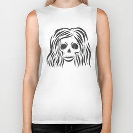 *Wild* - digital disstressed illustration Biker Tank