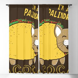 TACO CAT Blackout Curtain