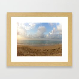 Summer Haze Framed Art Print