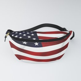 American Flag USA Fanny Pack
