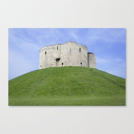 Clifford's tower 3 Canvas Print