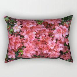 Azalia Blooms Rectangular Pillow