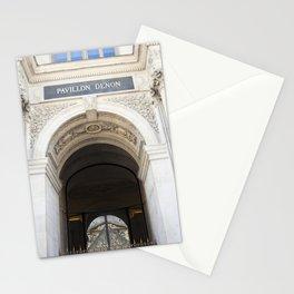 Louvre Reflection Stationery Cards