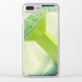 Watering can Clear iPhone Case