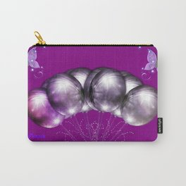 Power Purple For a Cure - The Wings of Love For the Future Carry-All Pouch